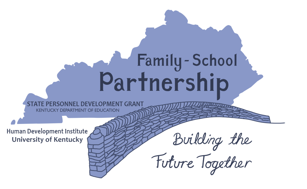 HDI SPDG Family-School Partnership Logo