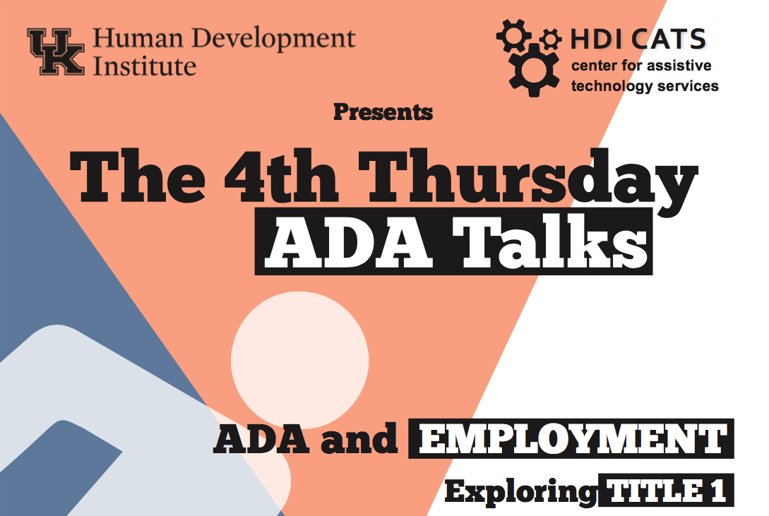 ADA Talk Flyer